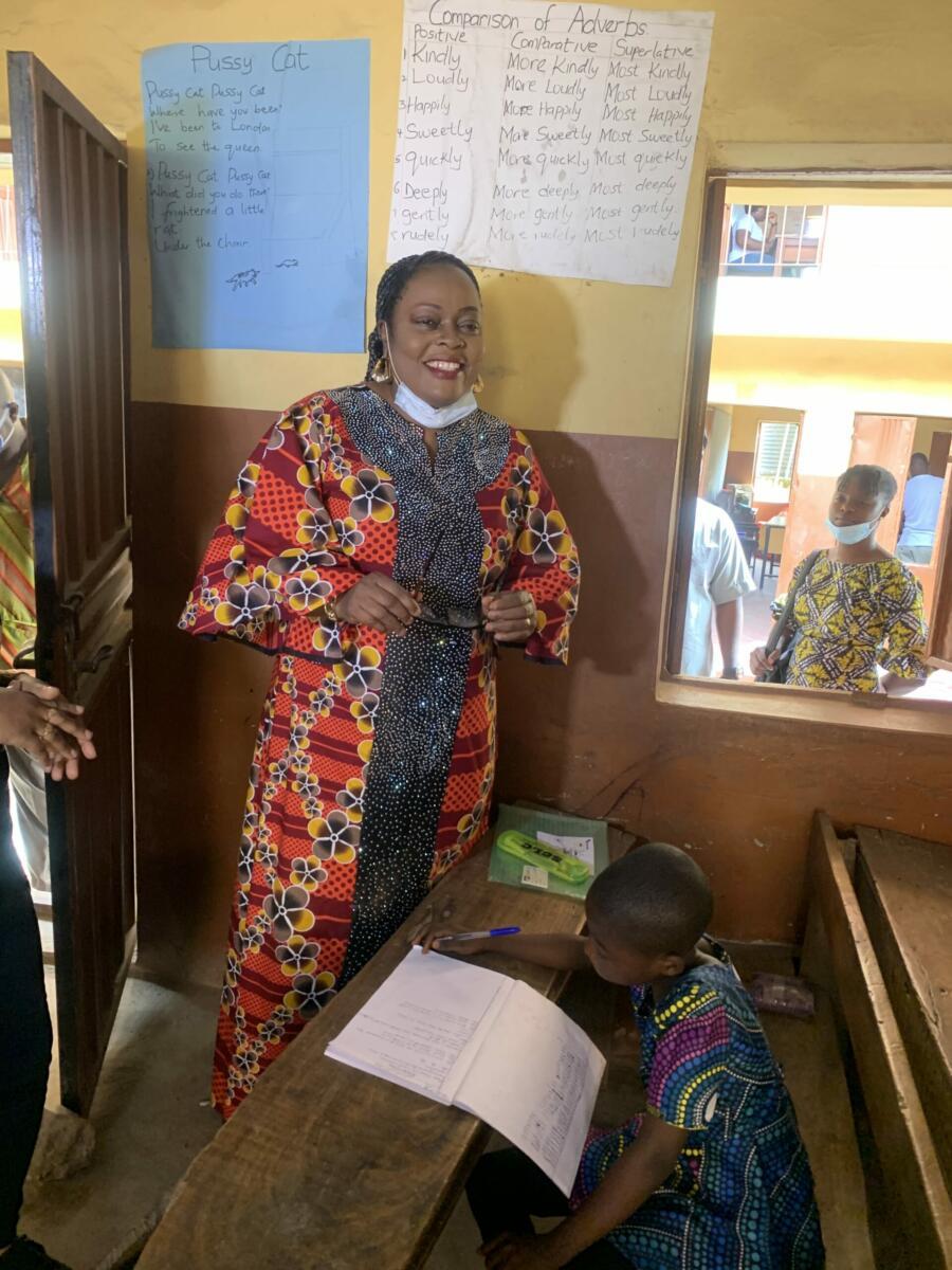 Ogun State Ministry Of Education Visit